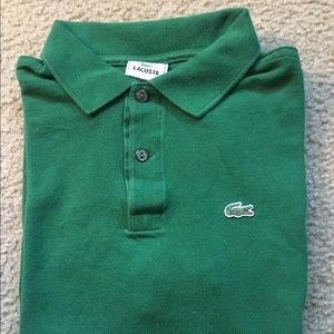 Lacoste polo Size 16 GUC